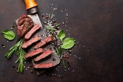 Lama o bistecca superiore di Denver immagini stock