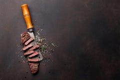 Lama o bistecca superiore di Denver fotografie stock