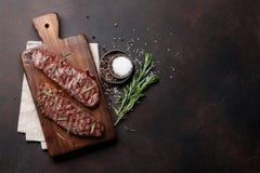 Lama o bistecca superiore di Denver fotografia stock
