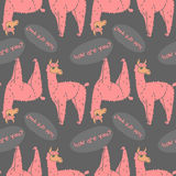092 lama pattern 01 Royalty Free Stock Image