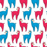 092 lama pattern 01 Stock Photos