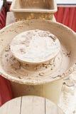 Lama secada ao redor Imagem de Stock Royalty Free