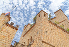 Lama'skasteel, San Martin, Peru Royalty-vrije Stock Afbeelding