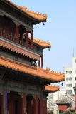 The Lama Tempel in Beijing Royalty Free Stock Image