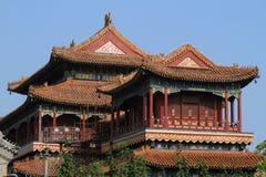 Lama Tempel dans Pékin Photographie stock libre de droits