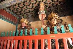 Lama Temple Royaltyfria Bilder