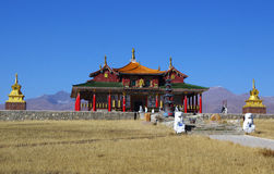 The lama temple Royalty Free Stock Image