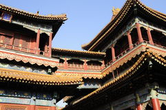 Lama temple Beijing Stock Image