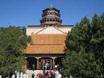Lama temple Beijing. The Buddhist lama temple in Beijing, China royalty free stock image