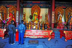 The Lama Temple in Beijing China Stock Images