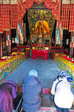 The Lama Temple in Beijing China Stock Photo