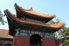 Lama Temple of Beijing in China Royalty Free Stock Photo