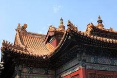 Lama Temple of Beijing in China Royalty Free Stock Photos