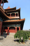 Lama Temple of Beijing in China Royalty Free Stock Image