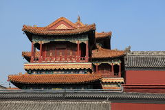 Lama Temple of Beijing in China Royalty Free Stock Photography