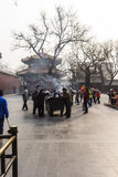 The Lama temple Beijing china Royalty Free Stock Photography
