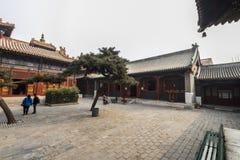The Lama temple Beijing china Royalty Free Stock Photo
