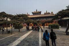 The Lama temple Beijing china Stock Image