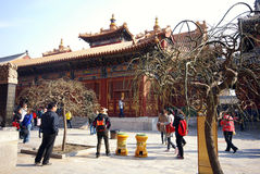 Lama Temple in Beijing, China. Stock Photography