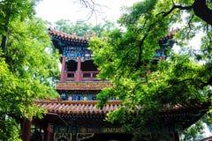 Lama temple, Beijing, China Royalty Free Stock Image