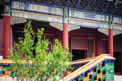 Lama temple, Beijing, China Royalty Free Stock Photo