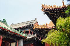 Lama temple, Beijing, China Royalty Free Stock Photos