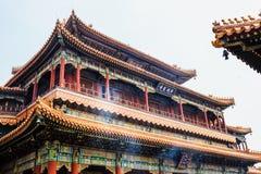 Lama temple, Beijing, China Stock Photography