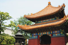 Lama temple, Beijing, China Royalty Free Stock Images
