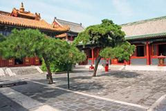 Lama temple in Beijing Royalty Free Stock Photos