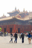 Lama temple in Beijing Stock Photo