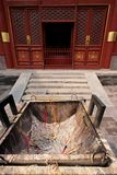 Lama temple, Beijingm, China Royalty Free Stock Photography