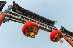 Lama Temple gate Stock Image