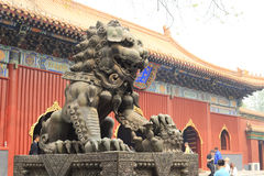The lama temple Royalty Free Stock Images