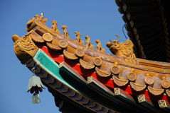 Lama Temple - mythical figures - Royalty Free Stock Photos