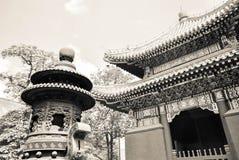 Lama Temple no Pequim, China Fotografia de Stock Royalty Free