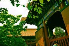 Lama Temple no Pequim, China Foto de Stock