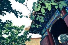 Lama Temple no Pequim, China Fotos de Stock Royalty Free