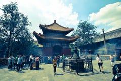Lama Temple no Pequim, China Imagens de Stock Royalty Free