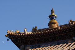 Lama Temple in Peking Lizenzfreie Stockfotos