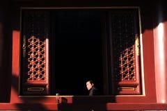 Lama Temple in Peking China Lizenzfreie Stockfotografie