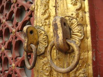 The Lama Temple's knocker Royalty Free Stock Photography