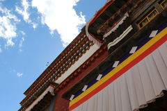 Lama temple in Tibet Royalty Free Stock Images