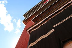 Lama temple in Tibet Royalty Free Stock Photos