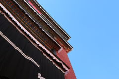 Lama temple in Tibet Stock Images