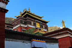Lama temple in Tibet Stock Photography