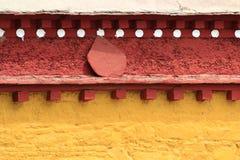 Lama Temple  Wall pattern Royalty Free Stock Photo