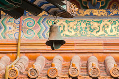 Lama Temple. Wind bell in Yonghe Temple also known as Palace of Peace and Harmony Lama Temple or simply Lama Temple in Beijing, China royalty free stock image