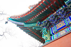 Lama Temple (Yonghegong), Beijing Royalty Free Stock Photos