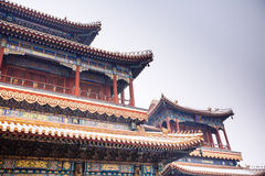 Lama Temple (Yonghegong), Beijing Royalty Free Stock Photo
