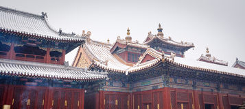 Lama Temple (Yonghegong), Beijing Royalty Free Stock Photography